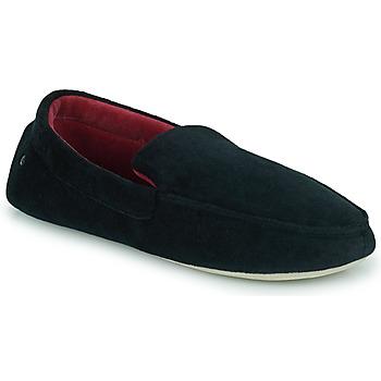 Schoenen Heren Sloffen Isotoner 96774 Zwart