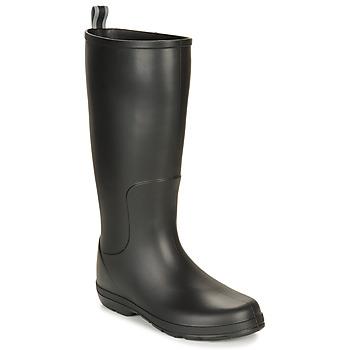 Schoenen Heren Regenlaarzen Isotoner 96523 Zwart