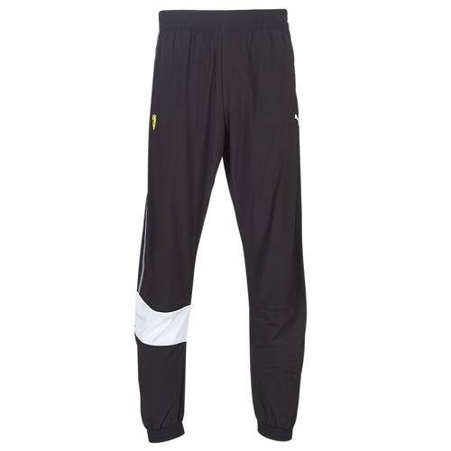 Textiel Heren Trainingsbroeken Puma SF STREET WOVEN PTS.BLK Zwart