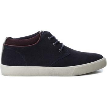 Schoenen Heren Lage sneakers B3D 40218 SERRAJE COMBINADO NAVY Azul marino