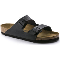 Schoenen Heren Leren slippers Birkenstock Arizona bf Zwart