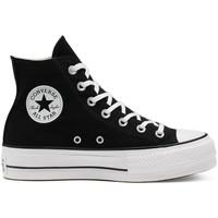 Schoenen Dames Hoge sneakers Converse Chuck taylor all star lift hi Zwart