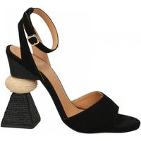 Schoenen Dames Sandalen / Open schoenen Paloma Barcelò KID SUEDE blk-nero