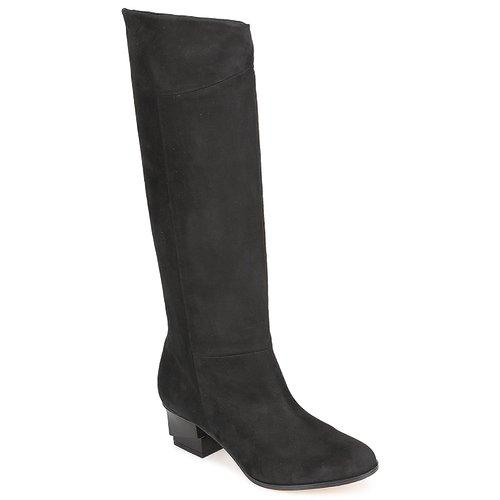Schoenen Dames Hoge laarzen Karine Arabian GALAXY Zwart