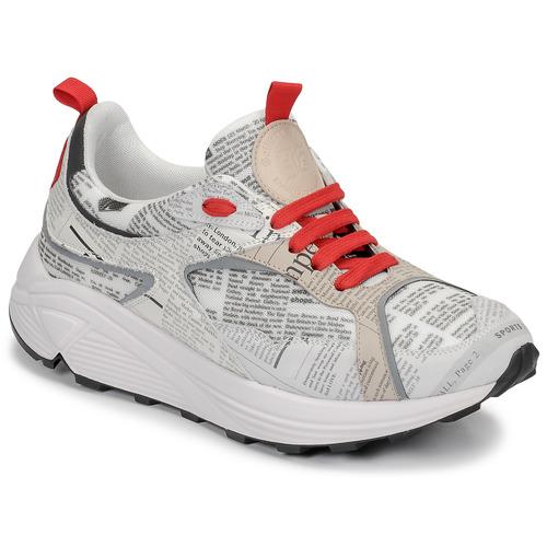 Schoenen Heren Lage sneakers John Galliano 8516 Grijs