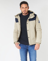 Textiel Heren Wind jackets Jack & Jones JORMATT Beige / Marine