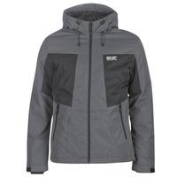 Textiel Heren Wind jackets Jack & Jones JCOBEST Grijs / Zwart