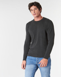 Textiel Heren Truien Jack & Jones JJEBASIC Grijs