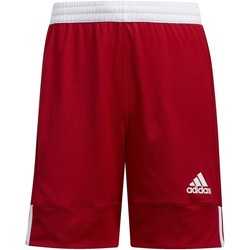 Textiel Kinderen Korte broeken / Bermuda's adidas Originals 3G Speed Reversible Short rouge / blanc