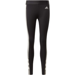 Textiel Dames Leggings adidas Originals Sport ID Legging Noir / Gris
