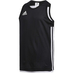 Textiel Kinderen Mouwloze tops adidas Originals 3G Speed Reversible Shirt Noir / blanc