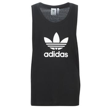 Textiel Heren Mouwloze tops adidas Originals TREFOIL TANK Zwart