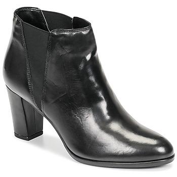 Schoenen Dames Laarzen André ELONA Zwart