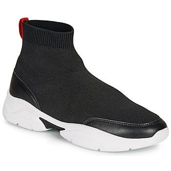 Schoenen Dames Hoge sneakers André BELLA Zwart