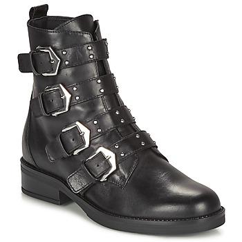 Schoenen Dames Laarzen André NARCISSE Zwart