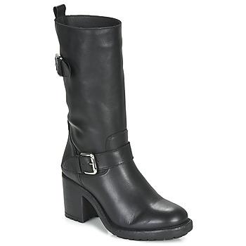 Schoenen Dames Hoge laarzen André NASHVILLE Zwart