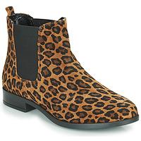 Schoenen Dames Laarzen André ELEGANTE Luipaard