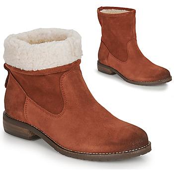 Schoenen Dames Laarzen André ERIKA Oranje