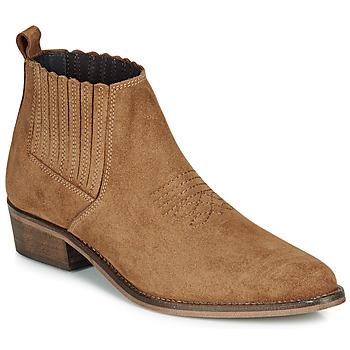 Schoenen Dames Laarzen André MANA Camel
