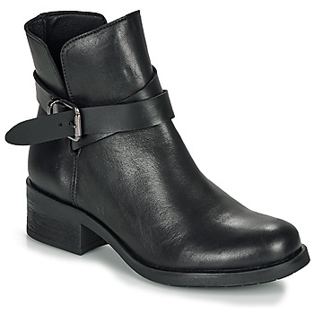 Schoenen Dames Laarzen André NELL Zwart