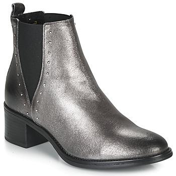 Schoenen Dames Laarzen André NEWBURY Zilver