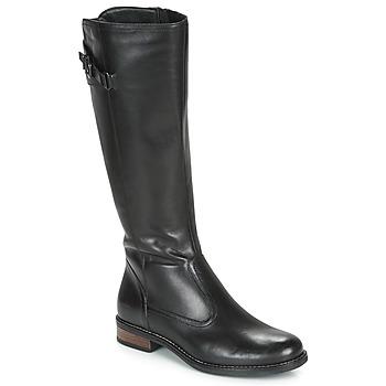 Schoenen Dames Hoge laarzen André MAPEL Zwart