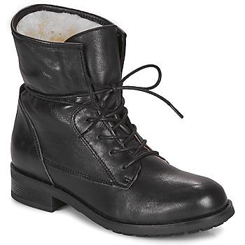 Schoenen Dames Laarzen André NETTY Zwart