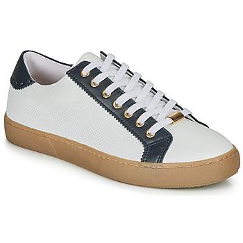 Schoenen Dames Lage sneakers André BERKELEY Wit / Motif