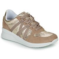 Schoenen Dames Lage sneakers André ALLURE Goud