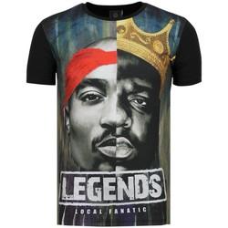 Textiel Heren T-shirts korte mouwen Local Fanatic Christopher Notorious T-shirt - 2PAC Legends 38