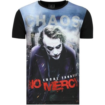 Textiel Heren T-shirts korte mouwen Local Fanatic The Joker Chaos No Mercy Zwart