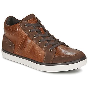 Schoenen Heren Hoge sneakers André MOMBASSA Bruin