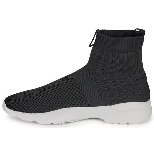 André LUNAIRE Zwart - Gratis levering  Schoenen Hoge sneakers Heren