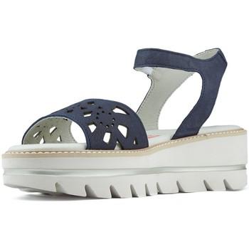 Schoenen Dames Sandalen / Open schoenen CallagHan LANGE STRAND VERSE SANDALEN NAVY