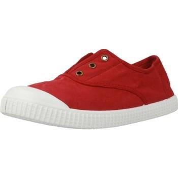 Schoenen Meisjes Lage sneakers Victoria 106627 Rood