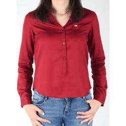Textiel Dames Overhemden Lee L47QLCPR burgundy