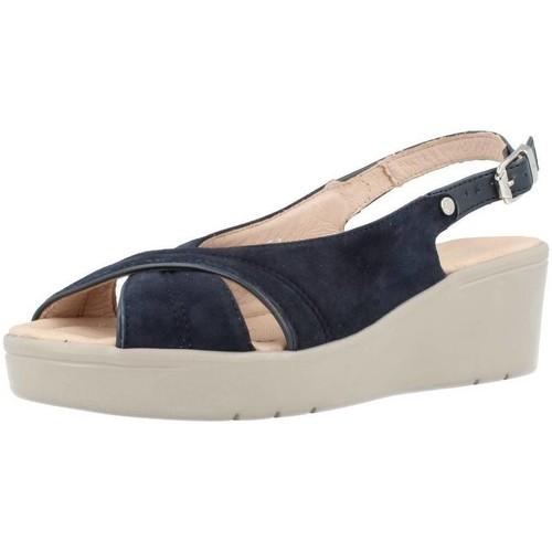 Schoenen Dames Sandalen / Open schoenen Stonefly TESS 3 Blauw