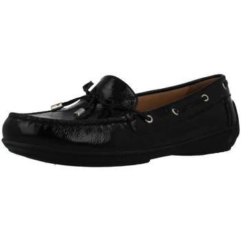 Schoenen Dames Bootschoenen Geox D JAMILAH 2FIT Zwart