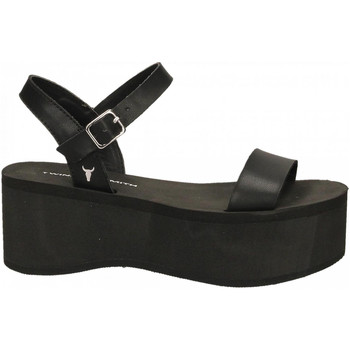 Schoenen Dames Sandalen / Open schoenen Windsor Smith CARLA SMOOTH ACTION black-nero
