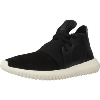 Schoenen Dames Lage sneakers adidas Originals TUBULAR DEFIANT W Zwart