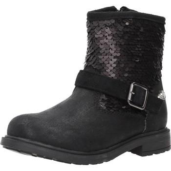 Schoenen Meisjes Enkellaarzen Lulu 65611 Zwart