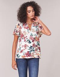 Textiel Dames Tops / Blousjes Casual Attitude LAURIANA Wit / Multicolour