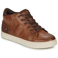 Schoenen Jongens Hoge sneakers André FABOU Bruin