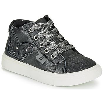 Schoenen Meisjes Hoge sneakers André MARIPOSA Grijs