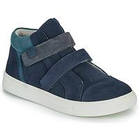 Schoenen Jongens Hoge sneakers André UBUD Marine