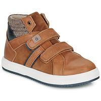 Schoenen Jongens Hoge sneakers André TIMOTHE Bruin