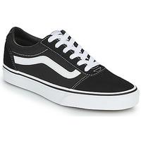 Schoenen Dames Lage sneakers Vans WARD W Zwart