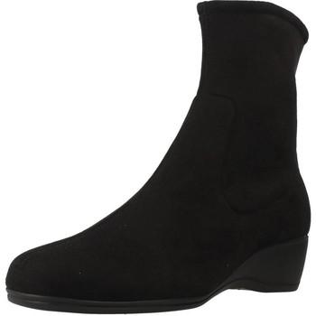 Schoenen Dames Laarzen Pinoso's 34631 Zwart