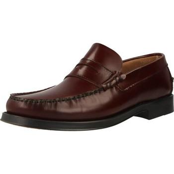 Schoenen Heren Mocassins Privata M2500 Rood