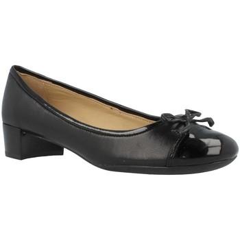 Schoenen Dames Ballerina's Geox D CAREY C Zwart